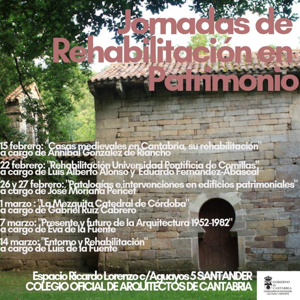 Jornada Rehabilitacion en patrimonio