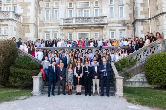 Foto acto bienvenida de los MIR 2019 en el Palacio de la Magdalena